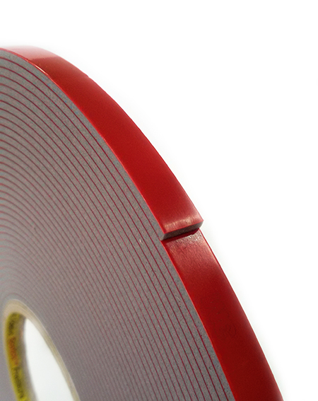 Двухсторонний монтажный скотч 3М VHB 4991 серого цвета, толстая акриловая пена 2,3мм, для пластиков, металлов, резины, окрашенных материалов